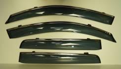 Ветровики (дефлекторы боковых окон) Mitsubishi OUTLANDER