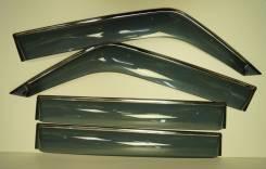 Ветровики (дефлекторы боковых окон) Mitsubishi PAJERO