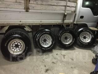 Продам шикарные колеса с отличной резиной 31x10,5R15LT BFGoodrich. x15 6x139.70 ЦО 108,0мм.
