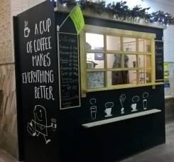 Продам павильон под кофе или еду в офисном здании в центре.