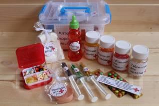 Большая аптечка хорошего настроения-веселый подарок на любой праздник!