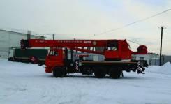 Галичанин КС-55713-1В-4. КС 55713-1В-4 автокран 25т. с гуськом доп. прот. 4,5 т. (Камаз-65115), 6 700куб. см.