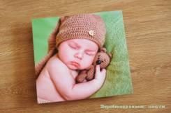 Печать Ваших фотографий на деревянных панелях.