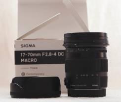 Объектив Sigma 17-70 (Canon). Для Canon, диаметр фильтра 72 мм