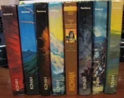 """Продам книги серии """"Конан"""" комплектом"""