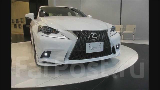Клык бампера. Lexus IS300h, AVE30, AVE35 Lexus IS250 Двигатель 2ARFSE