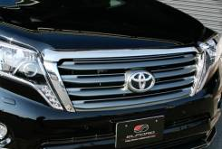 Решетка радиатора. Toyota Land Cruiser Prado, GDJ150, GDJ150L, GDJ150W, GDJ151, GDJ151W, GDJ155, GRJ150, GRJ150L, GRJ150W, GRJ151, GRJ151W, KDJ150, KD...