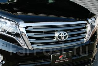 Решетка радиатора. Toyota Land Cruiser Prado, KDJ150L, GDJ150L, GDJ151W, GRJ150W, GDJ150W, TRJ12, GRJ151W, TRJ150W, GRJ150L Двигатели: 1KDFTV, 1GDFTV...