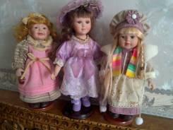 Куклы из личной коллекции три штуки одним лотом. Оригинал