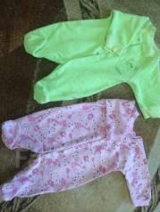 Продам детские вещи в хорошем состоянии с 0-3 месяцев. Рост: 50-60, 60-68 см