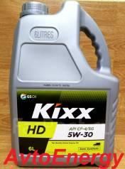Kixx. Вязкость 5W-30, 6 ЛИТРОВ, полусинтетическое