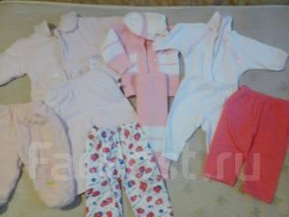 Продам пакет детских вещей для девочки. Рост: 60-68, 68-74 см