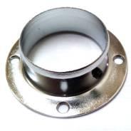 Фланец стальной для трубы d=50 мм (хром)