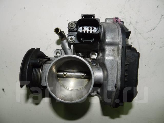 Заслонка дроссельная. Volkswagen Caddy Volkswagen Polo Двигатели: AKV, APQ, AEE, AUD, AEX