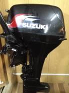 Suzuki. 15,00л.с., 2х тактный, бензин, нога S (381 мм), Год: 2006 год