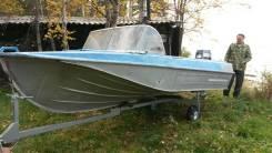 Казанка-5М3. Год: 1991 год, длина 4,30м., двигатель подвесной, 60,00л.с., бензин