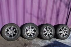 Продам диски с резиной 215/65R16 лето Bridgestone Dueler H/L. 7.0x16 5x114.30 ET49 ЦО 73,0мм.