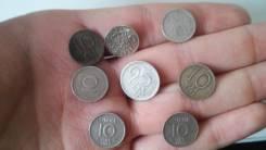 Серебряные монеты европы