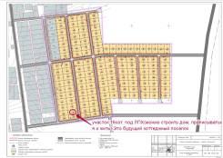 Участок с. Некрасовка 16сот. ЛПХ. 1 600 кв.м., собственность, от частного лица (собственник). Схема участка