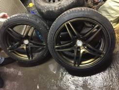 Крутые колеса AVS Model 5. 8.0/9.0x18 5x114.30 ET38/45