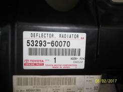 Дефлектор радиатора. Toyota Land Cruiser, VDJ200, GRJ200, URJ200, URJ202, UZJ200 Двигатели: 3URFE, 1VDFTV, 1URFE, 1GRFE, 2UZFE