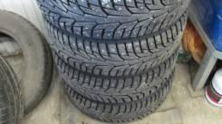 Hankook Winter i*Pike RS W419. Зимние, шипованные, 2015 год, износ: 5%, 4 шт