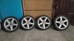 Отличный комплект летних колес SpeedLine. 7.0x17 5x100.00 ET35
