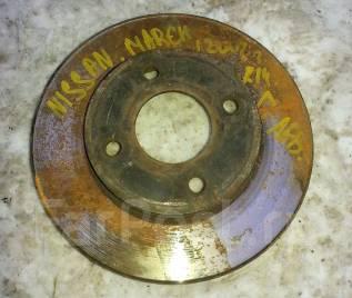 Диск тормозной. Nissan: Cube, Micra, March, Tiida, Tiida Latio, Note Двигатели: CR14DE, HR15DE, CR12DE, CR10DE, HR16DE