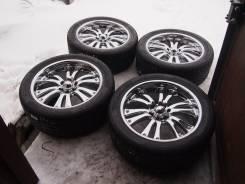 Комплект колес MKW M9 R22 джип! Хром! В идеале!. 9.5x22 6x139.70 ET10 ЦО 110,0мм.