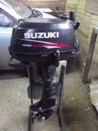 Suzuki. 6,00л.с., 4х тактный, бензин, нога S (381 мм), Год: 2012 год