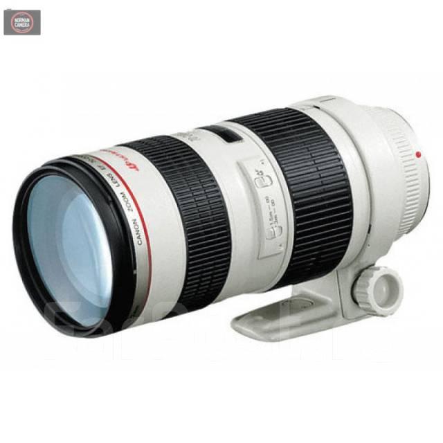 Объектив Canon EF 70-200mm f 2,8L USM. Для, Canon, диаметр фильтра 77 мм