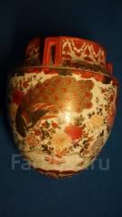 Старинное кашпо. Фарфор Сацума. Япония, кон. XIX века. Оригинал