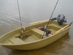 Лодка Стелс315. Год: 2017 год, длина 3,15м., двигатель подвесной, 8,00л.с., бензин
