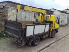 Mitsubishi Canter. Продам грузовик с манипулятором Mitsubisi Canter, 3 000 куб. см., 2 000 кг.