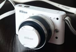 Nikon 1 J1 Kit. 10 - 14.9 Мп, зум: 14х и более