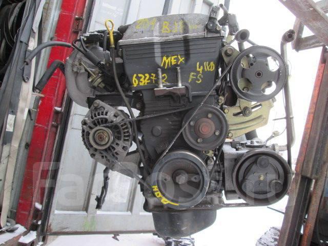 Контрактный двигатель Мазда FS 2,0 л бензин