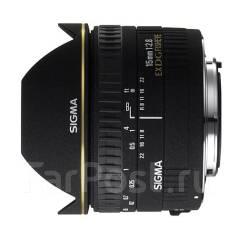 Объектив Sigma AF 15mm f/2.8 EX DG Diagonal Fisheye для Canon