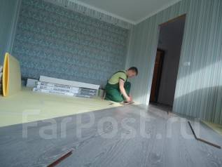 Компания предлагает услуги отделки и ремонта квартир, офисов, сан. узл