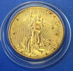 """Золотая монета """" Американский золотой орел 10$ """" 1/4 оz ! Низкая Цена"""