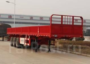 YANGJIA LHL9400, 2014. Полуприцеп с бортовой платформой, 60 000 кг.