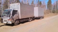 Isuzu Elf. Продаётся грузовик Isuzu ELF c Прицепом, 4 300 куб. см., 3 000 кг.