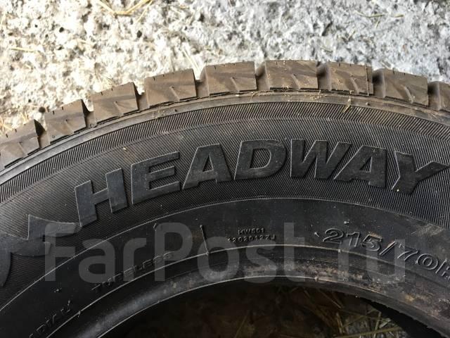 Headway HW501. Зимние, без шипов, 2013 год, без износа, 4 шт