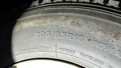 Bridgestone Blizzak W969. Всесезонные, 2013 год, износ: 50%, 2 шт