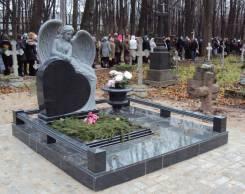 Памятники, благоустройство мест захоронений, ручная гравировка, ограды