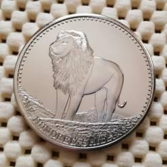Сомали 100 шиллингов 2013г. Пруф