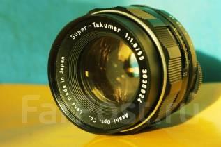 Объектив Super-Takumar 55 mm f/ 1.8. Для Зенит, диаметр фильтра 49 мм