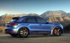 Обвес кузова аэродинамический. Porsche Macan. Под заказ