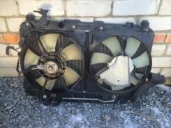 Радиатор охлаждения двигателя. Toyota RAV4, ZCA25, ZCA25W, ACA21W, ZCA26, ZCA26W, ACA20, ACA21, ACA20W Двигатели: 1AZFSE, 1AZFE, 1ZZFE