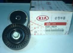 Натяжитель ремня. Kia Carens Kia Rio Kia Cerato Hyundai Solaris
