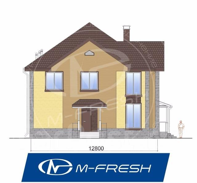 M-fresh Cad!llac (Новый проект просторного и современного дома! ). 200-300 кв. м., 2 этажа, 5 комнат, бетон